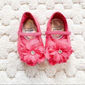 Stuart Weitzman Prewalker Baby shoes. Size 1.